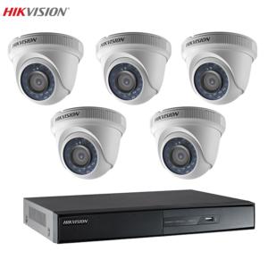 Bộ 5 camera Hikvision giá rẻ, chất lượng