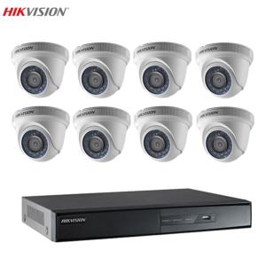 Trọn bộ 8 mắt camera Hikvision giá chỉ 4tr5