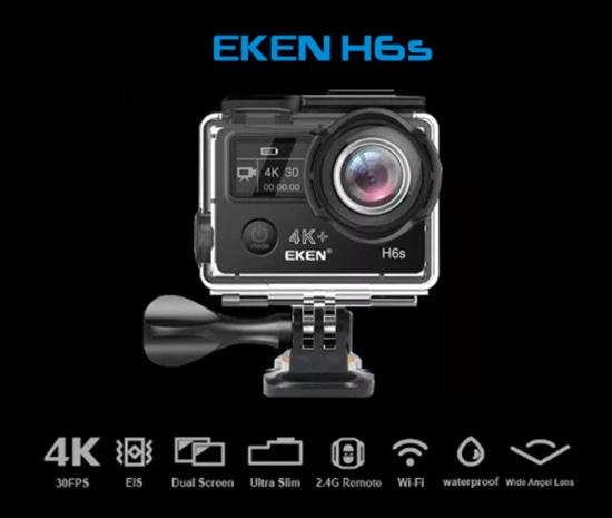 Camera hành động H6s giá rẻ