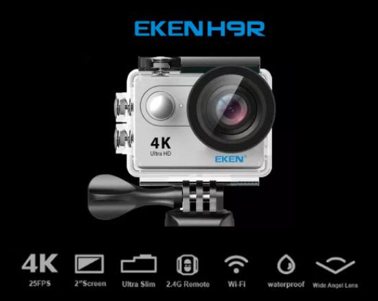 Camera EKEN H9r dưới 2 triệu
