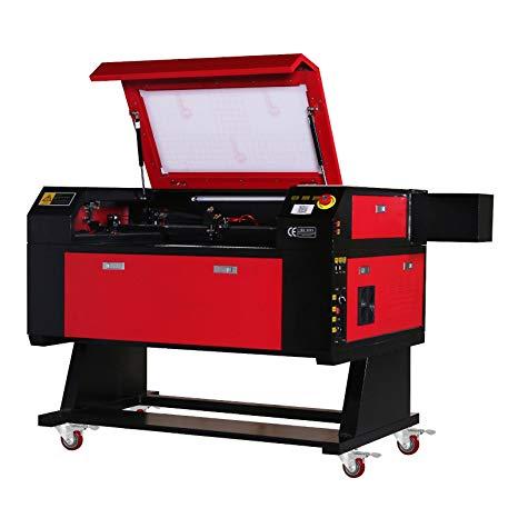 Máy khắc và cắt laser 80W CO2 700x500mm