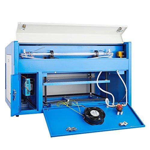 Máy khắc và khắc laser CO2 Orion Motor Tech 50W 110v